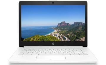 HP 14in AMD A4 4GB 64GB Cloudbook - White