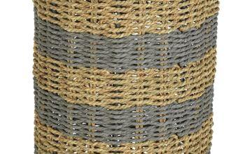 Argos Home Seagrass Umbrella Basket
