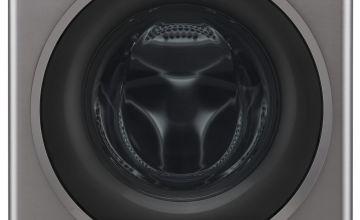 LG F4J609SS 9KG 1400 Spin Washing Machine - Graphite