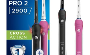 Oral-B Pro 2900 Cross Action Electric Toothbrush - Duo Pack