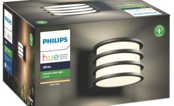 Philips Hue Lucca Outdoor Wall Light - Anthracite