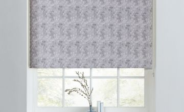 Argos Home Cow Parsley Blackout Roller Blind