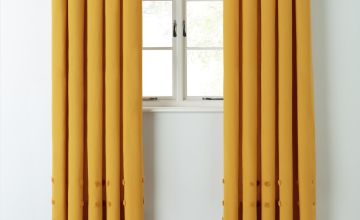 Argos Home Tufted Spot Fully Lined Eyelet Curtains