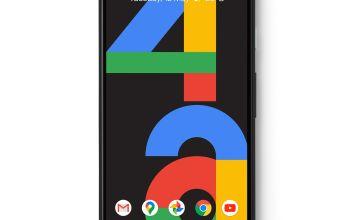 SIM Free Google Pixel 4a 128GB Mobile Phone - Just Black