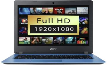 Acer Aspire 1 14in Celeron 4GB 64GB FHD Cloudbook - Blue