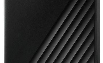 WD Passport 5TB Portable Hard Drive - Black