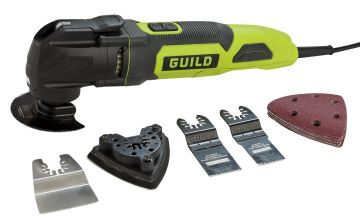 Guild 3-in-1 Multi-Tool with 20 Accessories – 300W