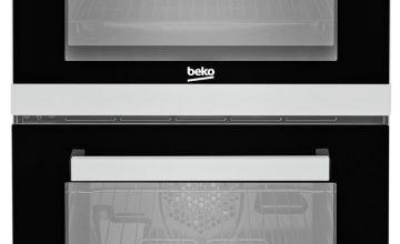 Beko KDV555AS 50cm Double Oven Electric Cooker - Silver