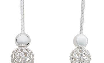 Revere Sterling Silver Filigree Ball Drop Earrings