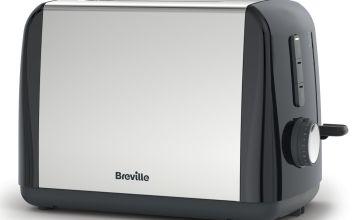 Breville ITT991 Stainless Steel 2 Slice Toaster - Black