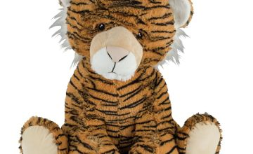 Safari Tiger 26 Inch Soft Toy