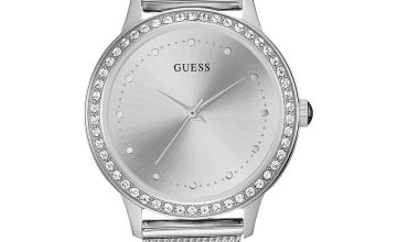 Guess Ladies Silver Stainless Steel Bracelet Watch