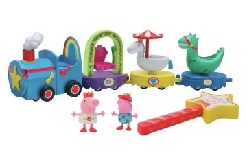 Peppa Pig Peppa's Magical Parade Train Playset