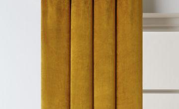 Argos Home Matte Velvet Dimout Eyelet Curtains