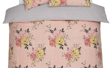 Argos Home Large Floral Print Bedding Set