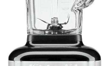 KitchenAid Artisan K400 Glass Jar Blender - Onyx Black