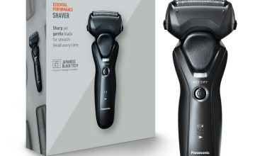 Panasonic 3-Blade Wet and Dry Electric Shaver ES-RT37 Black