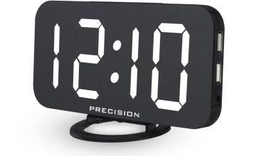 Precisions USB Port Alarm Clock