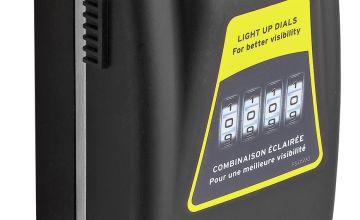 Master Lock 7cm Light Up Dial Key Safe