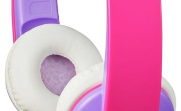 JVC Volume Limited Kids Headphones - Violet / Pink