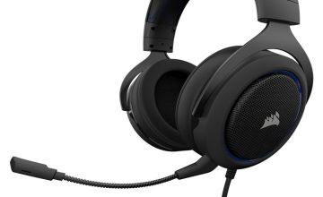 Corsair HS50 Xbox One, PS4, PC Headset - Black & Blue