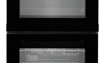 Beko KD533AK 50cm Twin Cavity Electric Cooker - Black