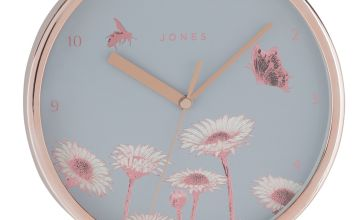 Jones Clocks Meadow Wall Clock
