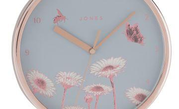 Jones Clocks Meadow Wall Clock