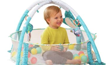 3-in-1 Jumbo Activity Gym and Ball Pit