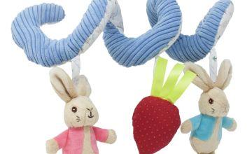 Beatrix Potter Peter Rabbit Actvity Spiral Toy
