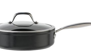 Argos Home 24cm Forged Aluminium Saute Pan
