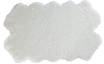 Argos Home Double Sheepskin Faux Fur Shaped Rug