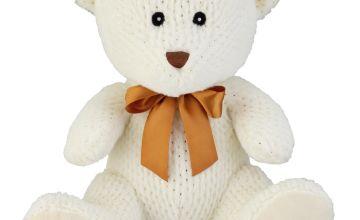 14inch Bear Soft Toy - Cream