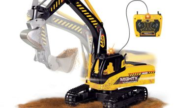 Chad Valley Auto City Construction Remote Controlled Digger