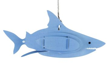 Argos Home Ocean Fantasy 3D Shark Shade - Blue