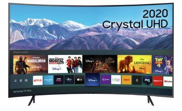 Samsung 55 Inch UE55TU8300KXXU Smart Curved 4K UHD LED TV