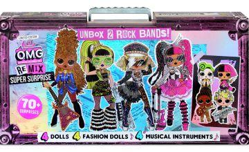 LOL Surprise! OMG Remix Super Surprise – 4 Dolls