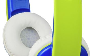 JVC Volume Limited Kids Headphones - Blue / Green