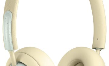 JAM Out There Over-Ear Wireless Headphones - Cream Soda