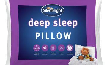 Silentnight Deep Sleep Medium/ Soft Pillow