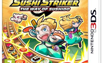 Sushi Striker: The Way of Sushido 3DS Game