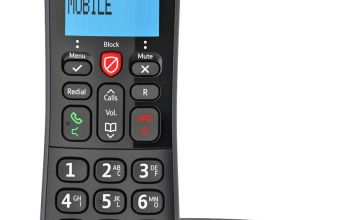BT Essential Cordless Telephone with Answer Machine - Single