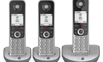 BT Advanced Z Cordless Telephone & Answer Machine - Triple