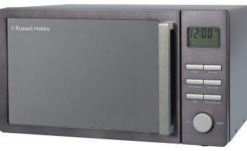 Russell Hobbs Luna 800W Standard Microwave RHMDL801G - Grey