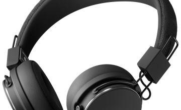 Urbanears Plattan 2 Bluetooth On-Ear Headphones - Black