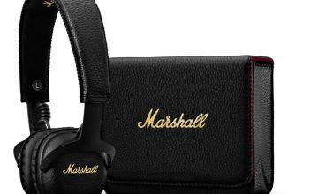 Marshall MID ANC On-Ear Bluetooth Headphones - Black