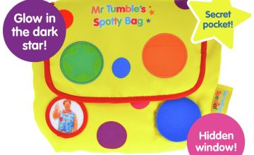 Mr Tumble's Seek and Find Spotty Bag with Fun Sounds