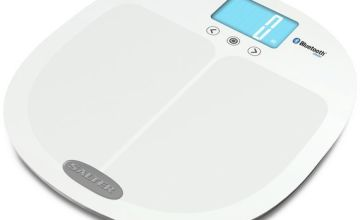 Salter Bluetooth Smart Body Analyser Scale - White