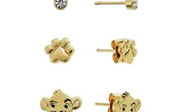 Disney Lion King Stud Earrings - Set of 3