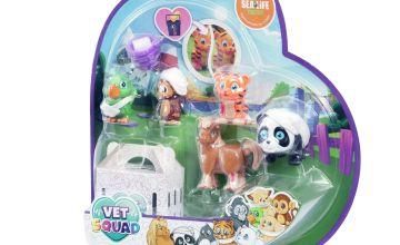 Vet Squad 5 Pack Animal Assortment